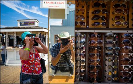 Santa Monica Pier, California  USA