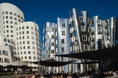 Gehry Buildings - Düsseldorf - Germany