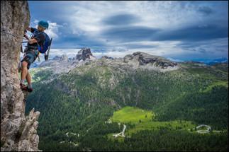 Via Feratta Degli Alpine - Italian Dolomites  UNESCO World Heritage Site