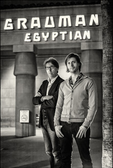 Academy Award Nominated Belgian Director Felix Van Groeningen en Producer Dirk Impens                Graumans Egyptian Theater    Los Angeles, California
