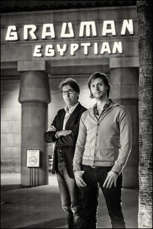 Academy Award Nominated Belgian Director Felix Van Groeningen en Producer Dirk Impens                Graumans Egyptian Theater    Los Angeles, California