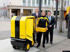 LOGÍSTICA | Deutsche Post inicia pruebas con robot de entrega