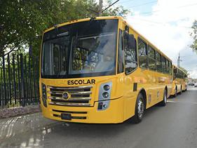 Entrega Autobuses Volkswagen para el Programa de Movilidad Escolar en Querétaro