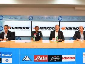 LLANTAS | Hankook Tire y S.S.C. Napoli anuncian su partnership