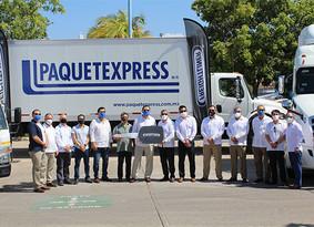 Paquetexpress crece operación con 77 nuevas unidades Freightliner