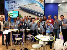 Vipal se destaca en la Expo Transporte 2018, en Argentina