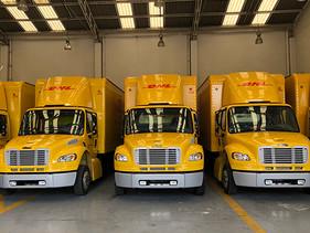 DHL Express adquiere 61 nuevas unidades Freightliner para su operación en México