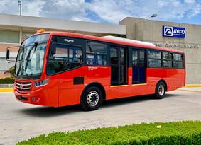 AM Guerrero, presenta prototipo para renovar flota de Acabús