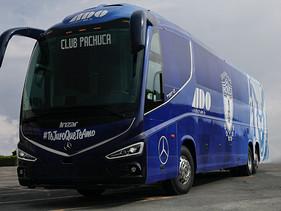 PASAJE | MOBILITYADO y Mercedes-Benz Autobuses juntos para movilizar al Pachuca