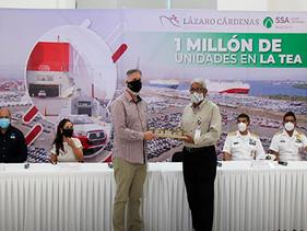 SSA México alcanza el desplazamiento de un millón de automóviles
