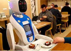 Robots humanoides al rescate de la industria restaurantera