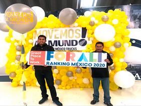 EMPRESAS | Daimler, entre los 10 mejores lugares para trabajar en México