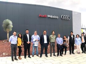 MOTOR | Clúster Automotriz de EDOMEX visita Planta Audi en Puebla