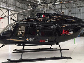 Del aeropuerto a Polanco en helicóptero con Cabify