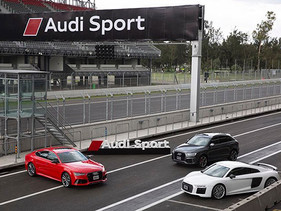 Audi Sport se presenta en México con un Audi driving experience