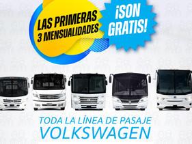 PASAJE | Ofrece VW Camiones y Autobuses promociones atractivas para transportistas