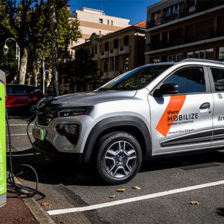 Mobilize lanza su primer servicio de auto compartido
