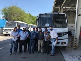 PASAJE | MAN Center Monterrey entrega los primeros Huracanes a Movisa