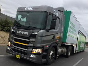 CARGA | Primer camión de carga pesada a gas natural en Latinoamérica