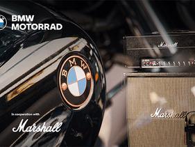 BMW Motorrad y Marshall anuncian una asociación estratégica