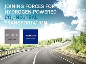 EMPRESAS | Volvo Group y Daimler Truck AG se alían para producir celdas de hidrógeno