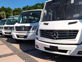 Sigue guiando la Estrella de las Tres Puntasel transporte público de Sinaloa
