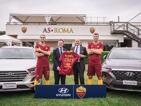 SPORT | Hyundai Motor se convierte en patrocinador del club de futbol AS Roma