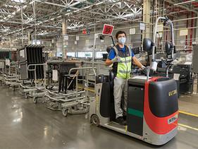 Con logística eficiente, Audi México envía sus vehículos a todo el mundo