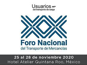 LOGÍSTICA | Anuncia ANTP nueva fecha para el XX Foro del Transporte de Mercancías