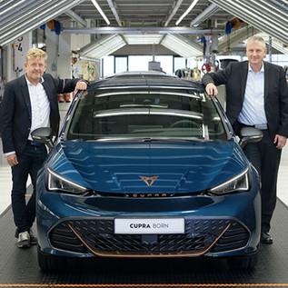 CUPRA inicia una nueva era con la producción de su primer auto 100% eléctrico