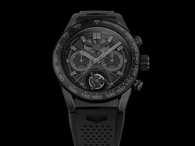 "Reloj Carrera Heuer-02T ""Black Phantom"""