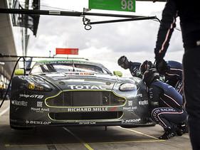 Gran participación de TOTAL y Aston Martin Racing en el WEC
