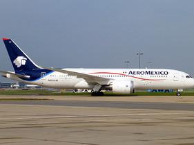 AÉREO | Operará Aeroméxico en julio, doble de vuelos que en junio