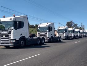 CARGA | Nuevamente Transportes Santa Lucía estrena flota Scania
