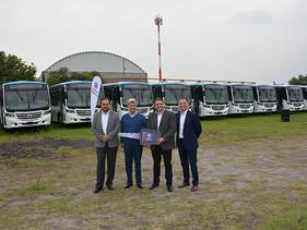 PASAJE   Ya son 65 unidades de Pumabus y toda su flota es Volkswagen
