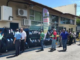 Vipal Cauchos celebra aniversario empresa socia Jamaica Ultimate Tyre Company