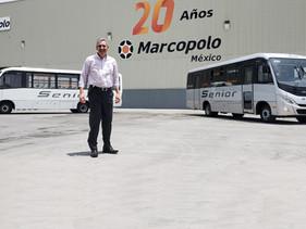 MOVILIDAD | Presenta Marcopolo México al Nuevo Senior 2020