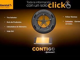 LLANTAS   CONTIGO, nueva App de Continental para fuerza de ventas