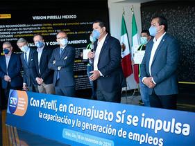 Impulsa Pirelli en Guanajuato la capacitación y la generación de empleos.