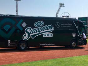 SPORT   Mercedes-Benz Autobuses da un Home Run movilizando a Saraperos