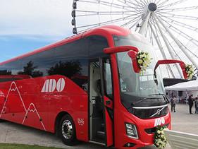 ADO Puebla presenta nueva generación de autobuses