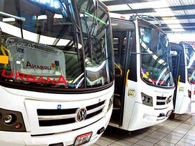 Camiones Europeos de Toluca entrega autobuses VW a línea mexiquense