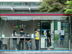 LIGEROS | Cabinas innovadoras en las paradas de autobuses de Seul