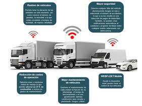 Conectividad de los vehículos, clave de Webfleet Solutions