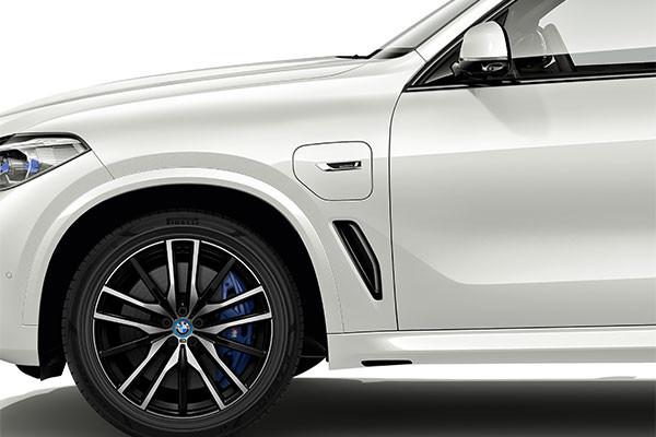 Neumáticos sustentables para el BMW X5 híbrido conectable