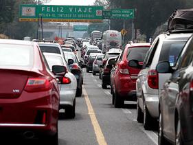 CDMX, la ciudad con más tráfico