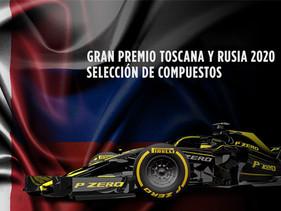 LLANTAS | Grandes Premios de la Toscana y Rusia 2020 Opciones de compuestos de neumáticos