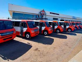 Entregan autobuses a San Carlos Tour Plus