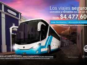 EMPRESAS | Mercedes-Benz Autobuses: Inversión en cada Kilómetro