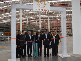 Natura inaugura Centro de Distribución en México